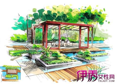 【图】分享园林景观设计手绘 初学者必须做知道的18点原则