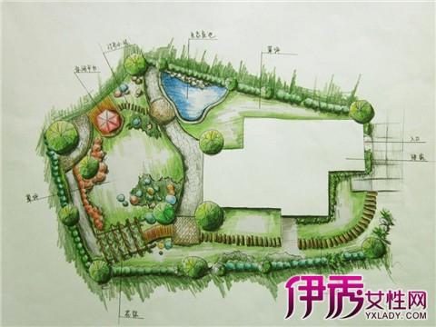 【图】园林景观手绘平面图大全