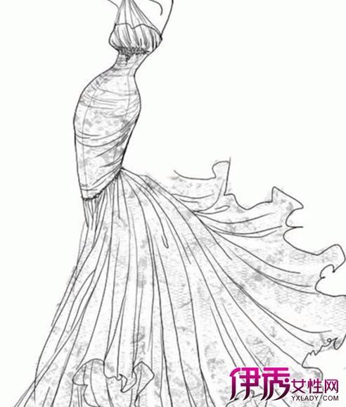 【图】铅笔手绘服装设计 铅笔使用及上色训练技巧