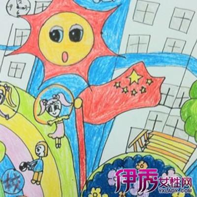 【美丽校园绘画图片】【图】欣赏创意的美丽校园绘画