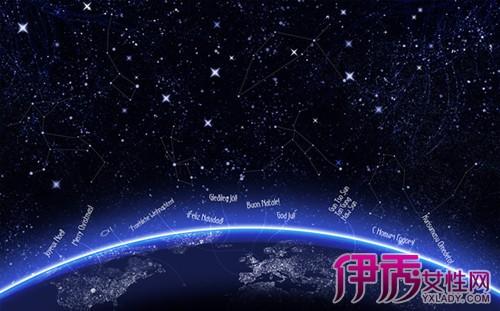 【图】十二星座梦幻星空图璀璨浪漫 解析十二星座符号象征的意义图片