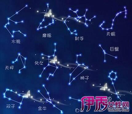 【图】十二星座唯美星空图展示