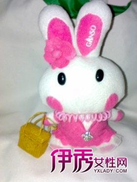 不织布兔子的纸样手工制作小兔子,不织布兔子的制作过程第二款超可爱