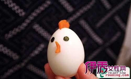 diy可爱的煮鸡蛋-宝宝更爱吃