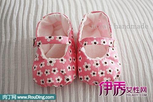 手工diy宝宝的小鞋子教程