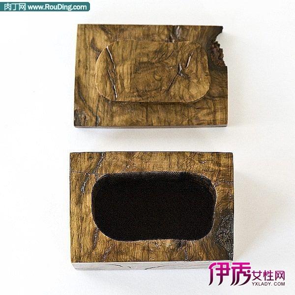 有瑕疵的木头首饰盒创意产品设计