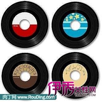 旧唱片手工小制作的制作过程
