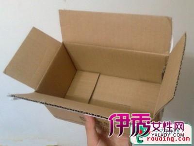 挂历抽纸盒手工制作,纸收纳盒的折法