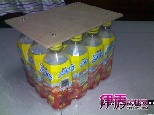 废物利用-冰红茶大变身之自制小凳子(第1页)图片