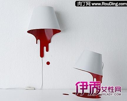 非常创意的油漆桶台灯设计