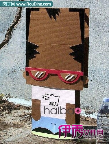 幼儿园纸箱创意图片