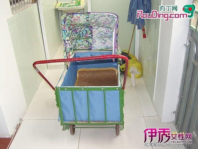 纯手工打造的老式童车