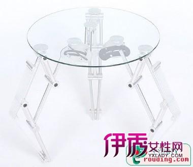 旋转扩大桌子结构图