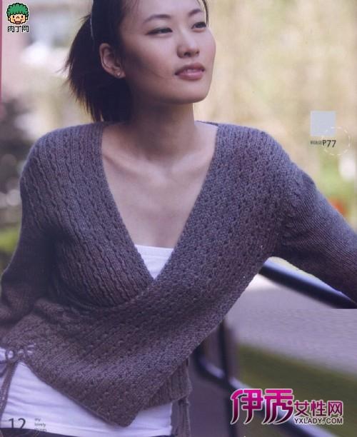 棒针毛衣编织款式