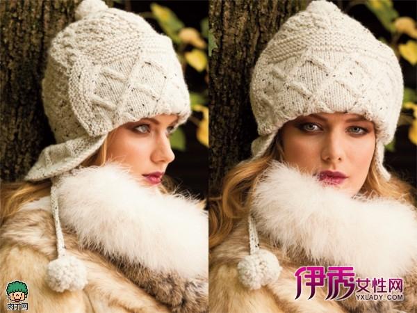 韩版毛线帽子的织法 毛线编织帽子图解