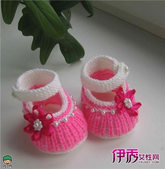 亲手做宝宝鞋子:可爱编织宝宝鞋教程