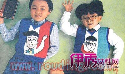 儿童毛线编织卡通图案-可爱的卡通毛衣花样图解