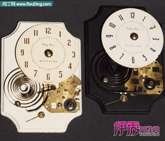 用旧钟表手工制作创意装饰品—diy艺术壁挂
