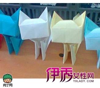 可爱的小动物系列折纸很多.其中包括温柔可人的小猫咪.