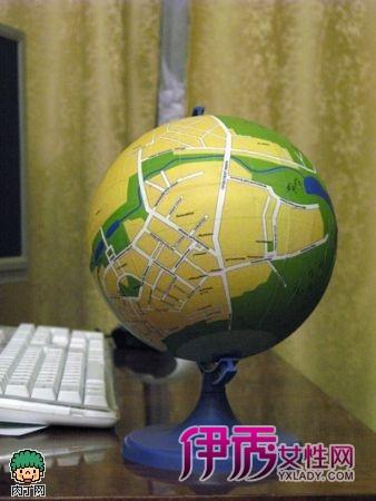 diy个性地球仪的手工制作教程