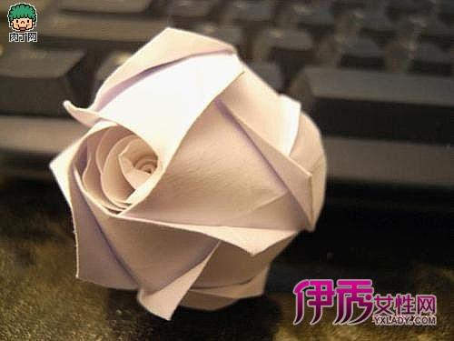 50种纸玫瑰折法[图片]