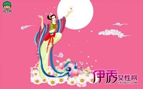 中秋节传统绘画插图(一)
