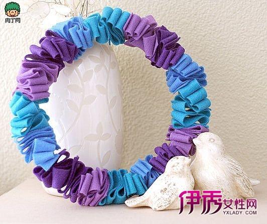 织布花环制作方法