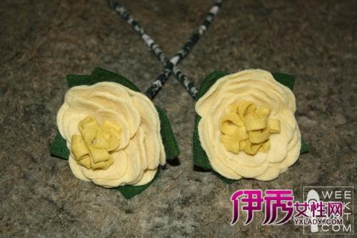 母亲节布艺不织布康乃馨