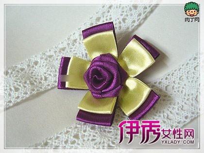 幼儿折纸手工胸花