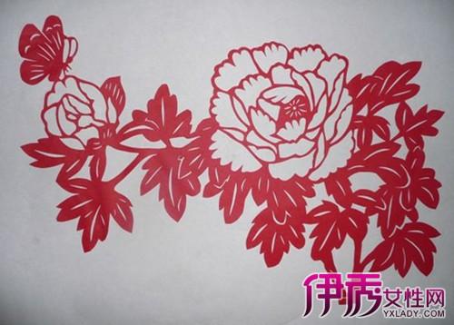 【图】剪纸牡丹图案与制作教程 3个步骤立马学会-剪纸牡丹图片