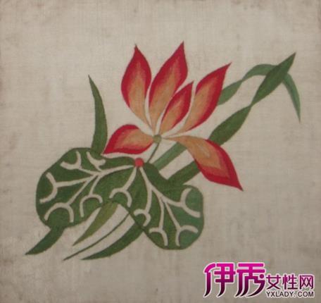 【图】莲花刺绣图样汇总 刺绣的种类和特点介绍-莲花刺绣图样图片