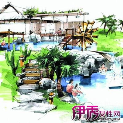 【图】展示手绘别墅立面图