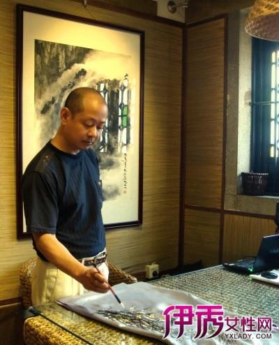 【图】旗袍花纹手绘图片 手绘旗袍刮起中国风