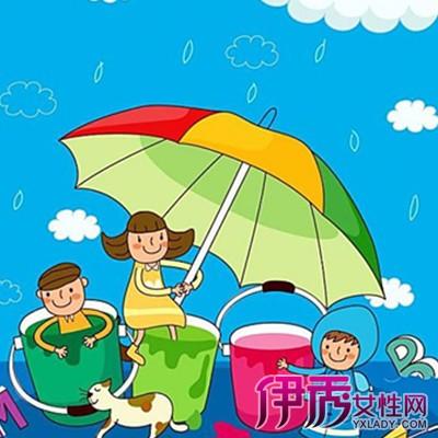 【图】盘点雨伞亲子绘画图片 了解史前的绘画