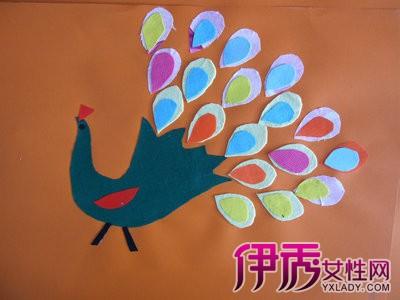 布艺粘贴画是古老的民间工艺布艺上发展起来的一种新的手工制作.图片