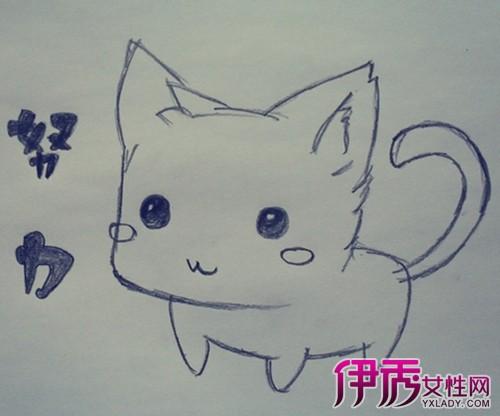 动物的卡通简单素描铅笔画大全 掌握4个技巧轻松画出小动物-卡通简图片