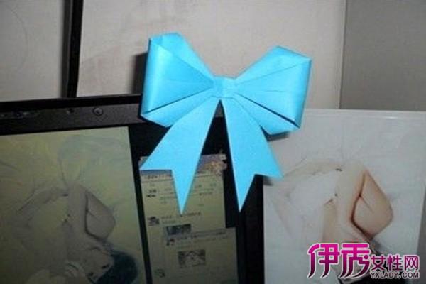 【图】正方形纸可以折蝴蝶结吗 16步简单教你折蝴蝶结