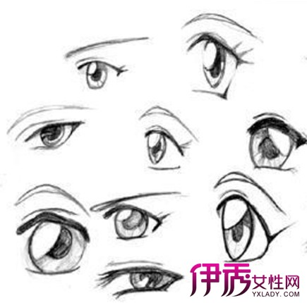 【手绘动漫女生的眼睛】【图】手绘动漫女生的