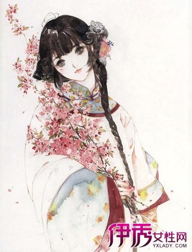 【图】唯美水粉手绘女孩大全 6个技巧让你画出唯美女孩