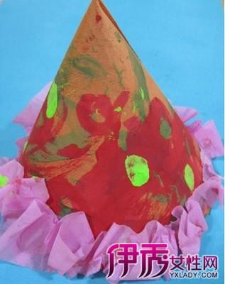 【纸帽子的折法步骤图】【图】圣诞纸帽子的折图片