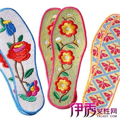 【图】 喜庆的手工刺绣鞋垫图案 短短几句教你如何穿鞋垫