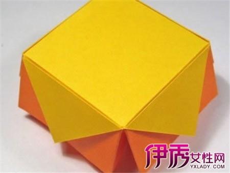 手工折纸盒的折法