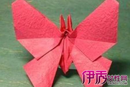 蝴蝶折纸大全 图解