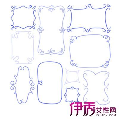 【图】好看简单的手绘边框图片展示 盘点手绘的技巧方法