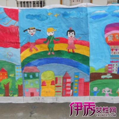 我爱祖国儿童画作品长城_画画大全