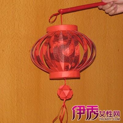 【图】折叠纸灯笼做法 教你漂亮的纸灯笼手工折纸方法-折叠纸灯笼做法