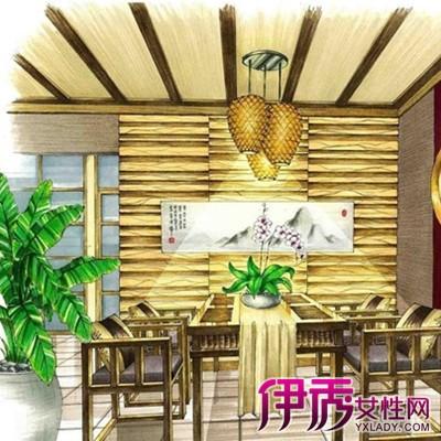 【图】欣赏中式手绘效果图 介绍设计师的四个设计表现