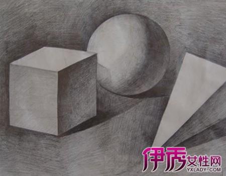 几何图形素描图片图片
