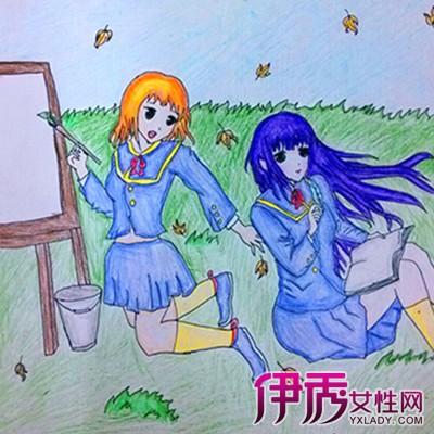 【图】少儿绘画图片大全 盘点儿童绘画特点-少儿绘画图片