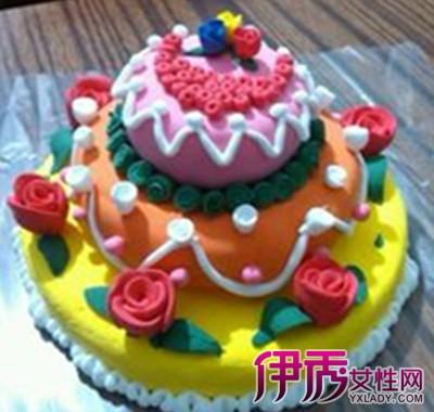 【图】超轻粘土蛋糕教程图片